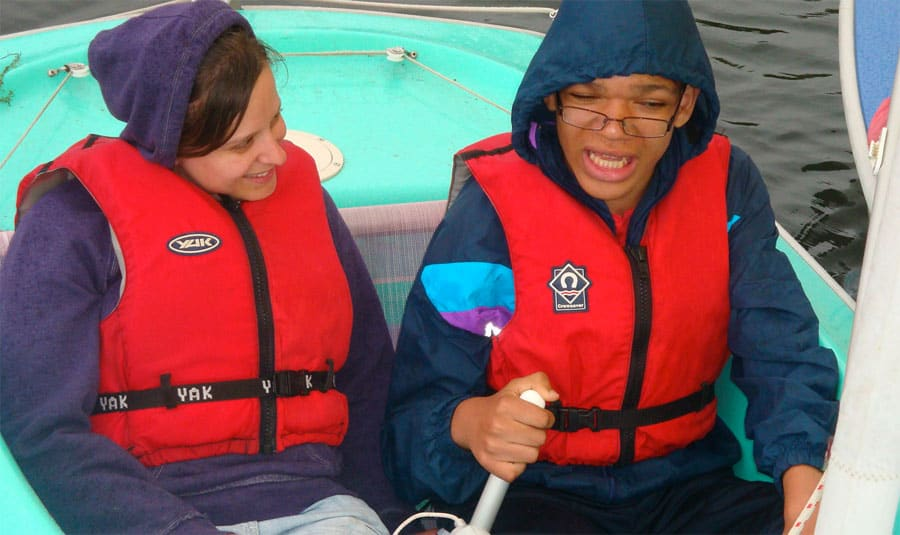 water sports outdoor education activities for young people