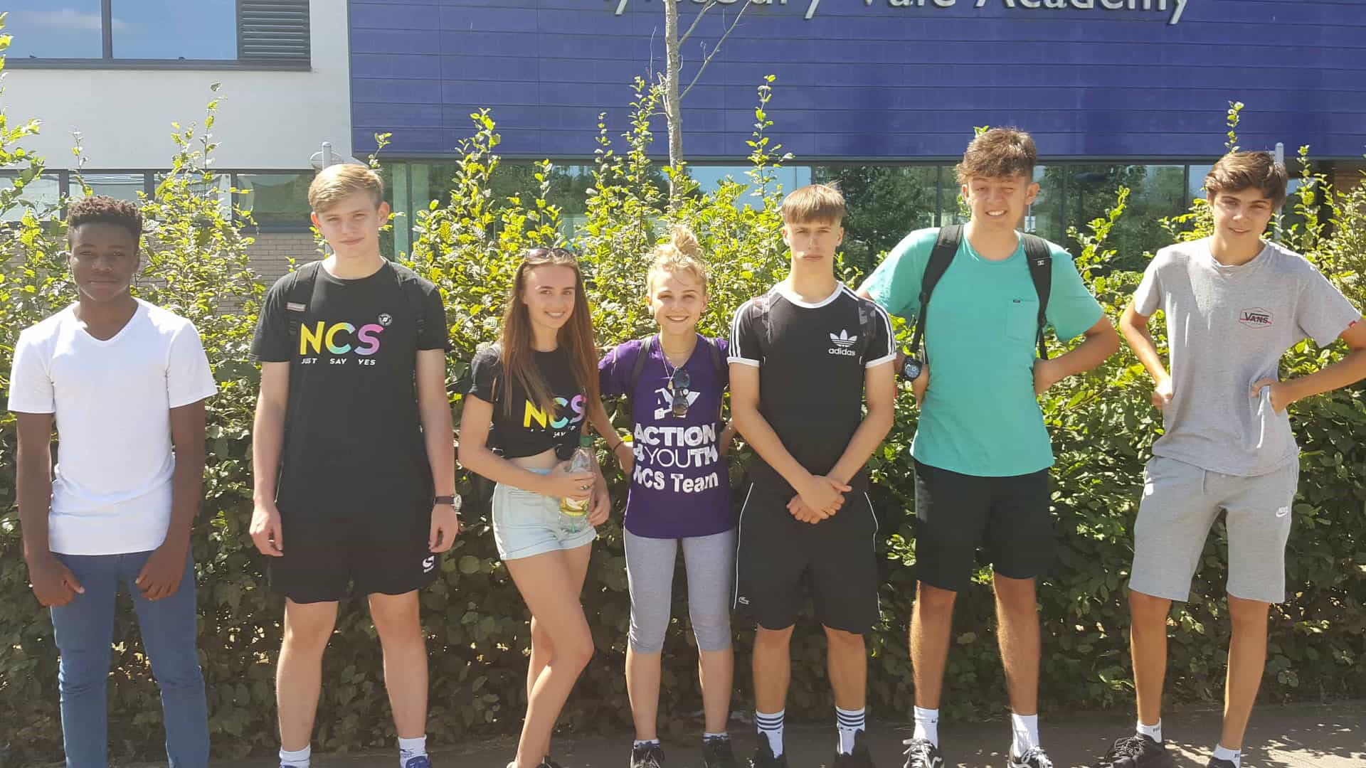 ncs induction events by action4youth